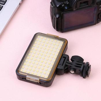 Professional 96LED Panel Video Studio Light Photo Fill Flash Lamp for SLR Camera Keep the Same Brightness When Open Again