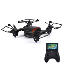 GTeng T901F Drone 5.8G Real-time Transmission 2MP 2.4GHz 4CH 6 Axis Gyro Quadcopter Remote Control Helicopter 4.3′ LCD Screen
