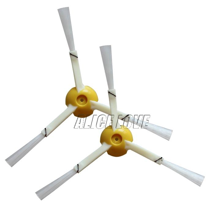 50pcs Brush 3 Armed Replacement For iRobot Roomba 800 Series 870 871 880 980 Robotic Vacuum Cleaner Accessories потребительские товары other 3 irobot roomba 800 880 870 47370