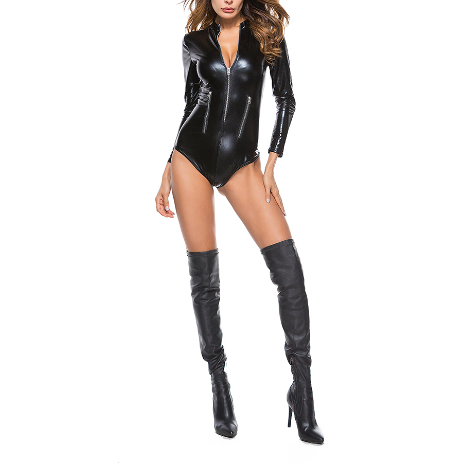 Costume leather sexy