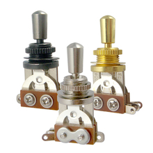 3 Way Toggle Switch & Tip Pickup Selector for Guitar Parts Accessories