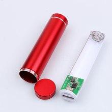 Высокое Качество Аккумуляторных батарей в Случае USB 5 В 1A POWER BANK Люкс 18650 БАТАРЕИ Внешний DIY Kit Case Box для сотового телефона или MP3
