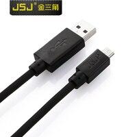 JSJ Miedzi Ładowania Telefonu komórkowego jf-43 jf-USB-45 Micro5p lub Mini USB Kabel Do Transmisji Danych