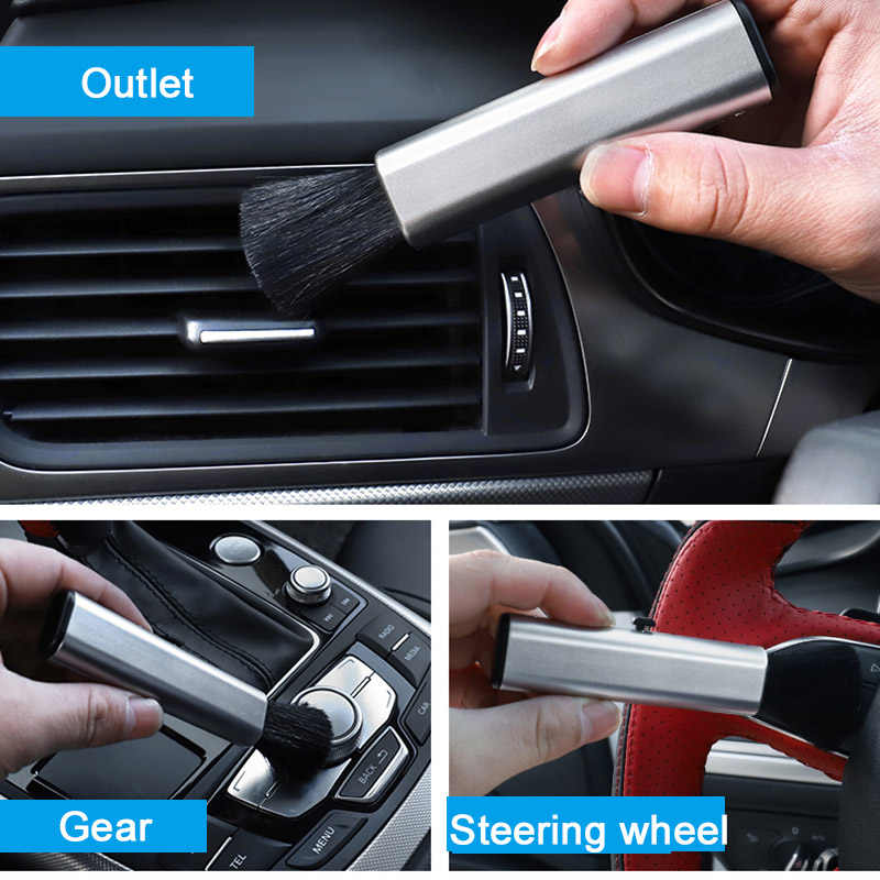 Voiture propre outils brosse pour Dodge Ram 1500 calibre voyage Challenger caravane chargeur Nitro Durango Stratus néon brosse de nettoyage