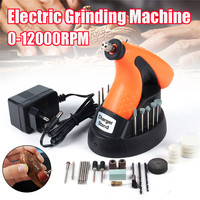 AC 220V 12000 Rpm Mini Drill Purpose 3 6V Rechargeable Cordless Rotary Tool Electric Grinding Sanding