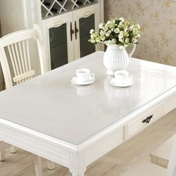 Brand PVC Tablecloth Transparent Waterproof D' Water and Kitchen Pattern Oil Glass High Quality Soft Cloth Tablecloth 1.0mm