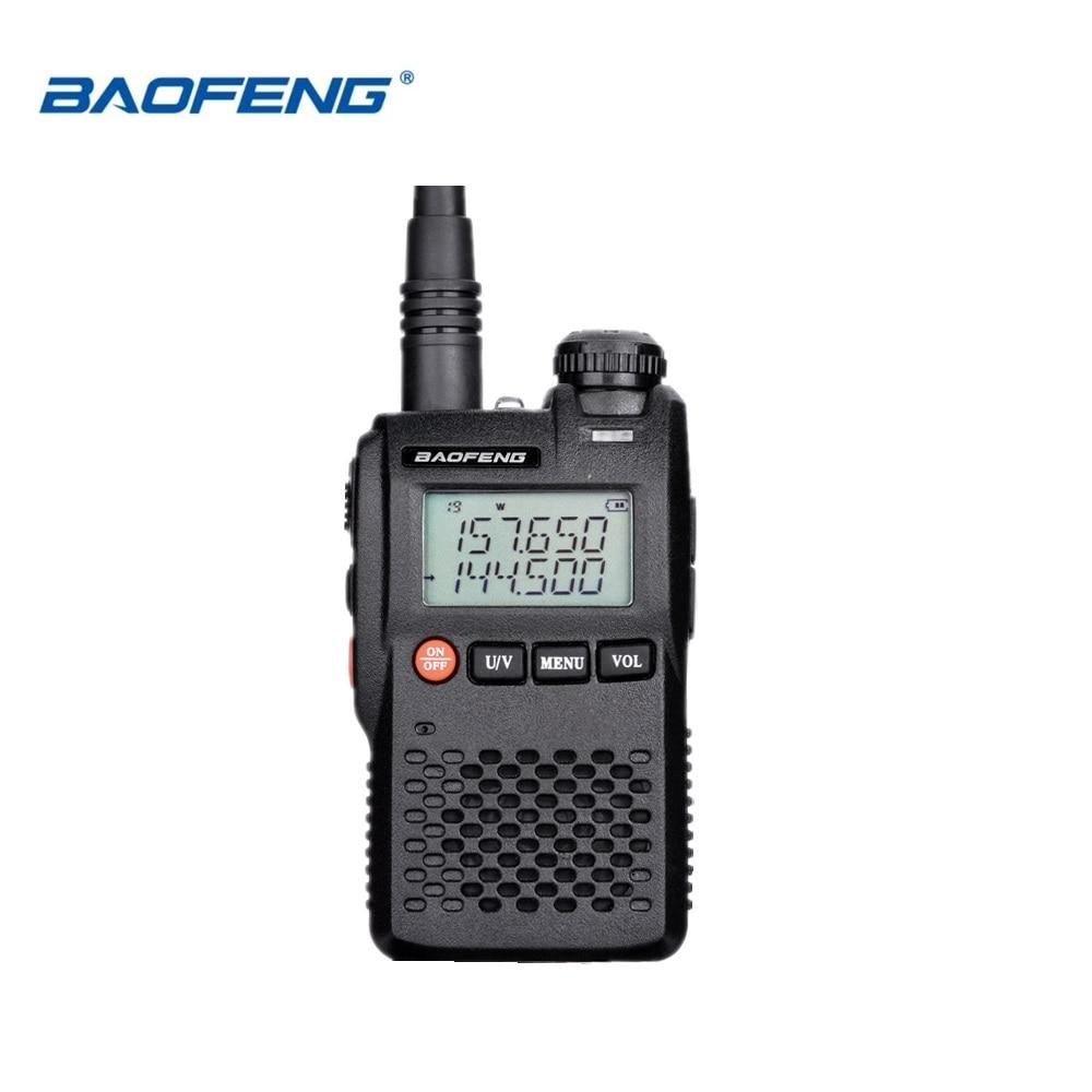 100% Original Besten Preis Baofeng UV-3R Mini Walkie Talkie Dual Band VHF UHF Tragbare UV3R Zwei Weg Radio Ham Hf transceiver UV 3R