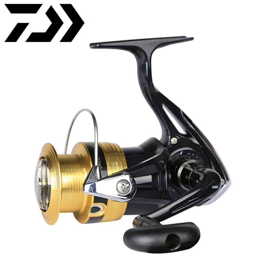 Daiwa SWEEPFIRE Fishing Reel 1500-4000 Size With Metail Spool 2KG-6KG Power For Beginner