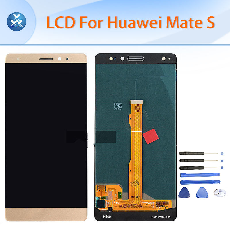 Black white gold Original LCD for Huawei Mate S LCD display touch screen digitizer glass assembly 5.5