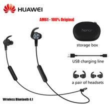 Huawei honor xsport bluetooth 4.1 am61 fone de ouvido para xiaomi huawei fones com ip55 nível proteção design magnético