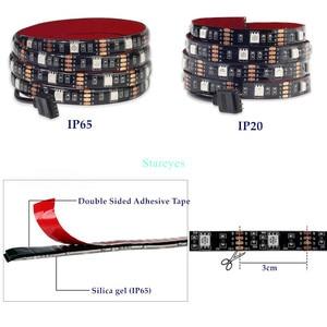 Image 2 - SMD 5050 RGB LED Strip DC 5V USBไฟLED Stripยืดหยุ่นIP20 IP65เทปกันน้ำ1M 2M 3M 4M 5Mเพิ่มRemoteสำหรับพื้นหลังทีวี