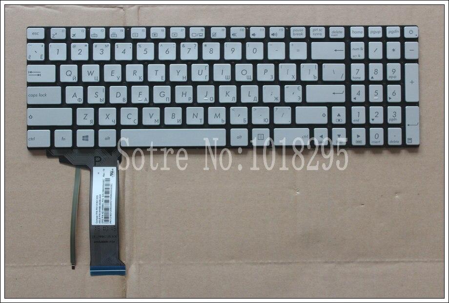 FOR ASUS GL552 GL552J GL552JX GL552V GL552VL GL552VW N551 N551J N551JB N551JK N551JM N551JQ backlit Russian RU laptop keyboard