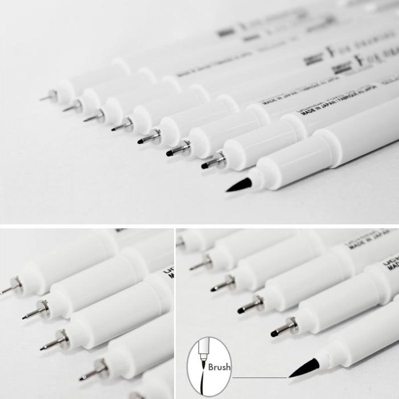 Marvy Sketch Liner Brush 0 03mm 0 05mm 0 1mm 0 3 0 5 0 8