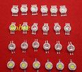RGBW (RGB+W) 2*3W 6W 3*3W 9W 4*3W 12W LED Lamp Emitter Diodes RGB RGBW high power led Lamp light emitter