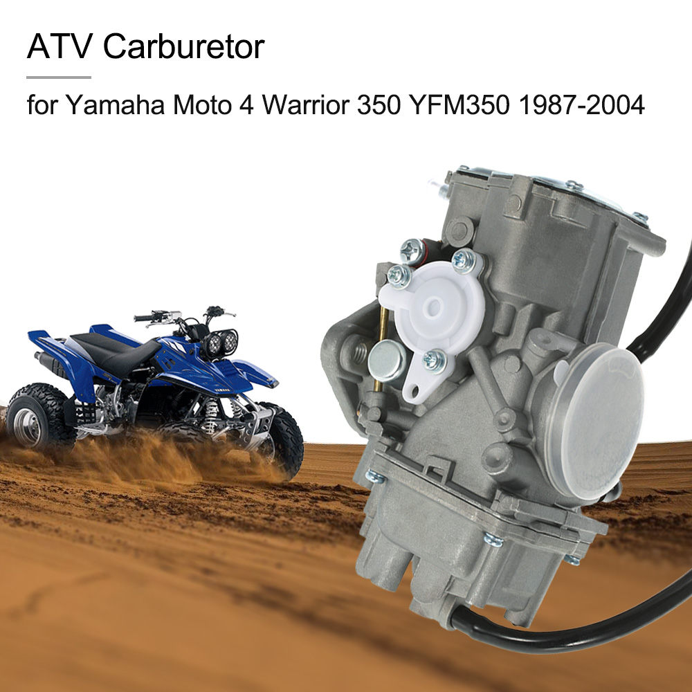 ATV Quad Carb  Carburetor for Yamaha Moto 4 Warrior 350 YFM350 1987-2004 carburetor carb for yamaha raptor 350 yfm350 yfm 350 2004 2008 2005 2006 2007