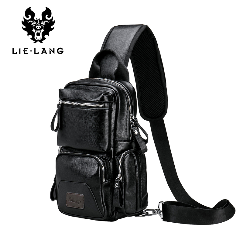 LIELANG Crossbody Bags for Men Messenger Chest Bag Pack Casual Bag Waterproof Nylon Single Shoulder Strap Pack 2018 New Fashion lapoe 2018 new vintage genuine leather crossbody bags for men messenger chest bag pack casual bag single shoulder strap pack