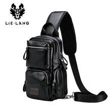 LIELANG Crossbody Bags for Men Messenger Chest Bag Pack Casual Bag Waterproof Single Shoulder Strap Pack 2019 New Fashion bag