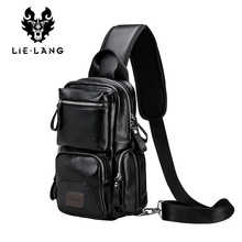 LIELANG Crossbody Bags for Men Messenger Chest Bag Pack Casual Bag Waterproof Single Shoulder Strap Pack 2019 New Fashion bag - DISCOUNT ITEM  55% OFF All Category