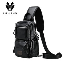 LIELANG Crossbody Bags for Men Messenger Chest Bag Pack Casual Bag Waterproof Single Shoulder Strap Pack 2019 New Fashion bag(China)