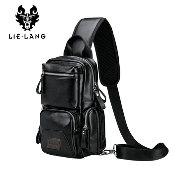 boys crossbody bags for men messenger chest bag pack casual bag waterproof nylon single shoulder strap pack 2019 new fashion LIELANG Crossbody Bags for Men Messenger Chest Bag Pack Casual Bag Waterproof Single Shoulder Strap Pack 2019 New Fashion bag