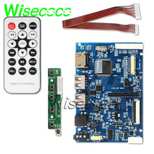 цена на 2USB+HDMI LVDS TTL LCD Controller Board Kit for Panel 10.1''N101ICG-L21 Rev. A1 connect computer and mobile phone for DIY kits