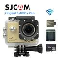 Free Shipping!! 32GB+Original SJCAM SJ4000 Plus WiFi 2K Novatek 96660 1080P 60FPS Sport Cam +Extra 1pcs battery+Battery Charger