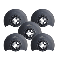Black Oscillating Tool Plastic Plasterboard Cutter Set For Fein Multimaster  Makita Replacement 5pcs Accessories
