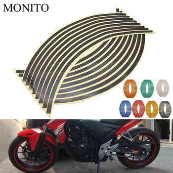 Motorcycle Wheel Sticker Reflective Decals Rim Tape Strip For Suzuki GSXR GSX-R 600 750 1000 K2 K3 K4 K5 K6 K7 K8 K9 Accessories image
