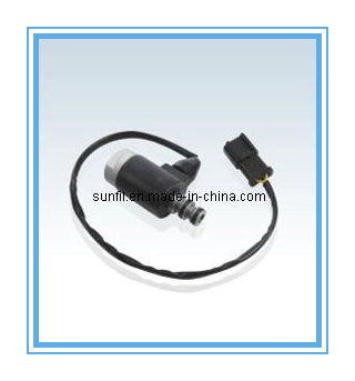 цена на Wholesale replacement parts PC120-6 Solenoid Valve,excavator spare parts 203-60-56180 free shipping