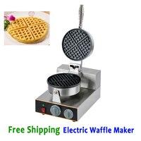 Бесплатная доставка Электрический вафельные машины коммерческий вафельница Кухня прибор сковорода с антипригарным Baker 220 В