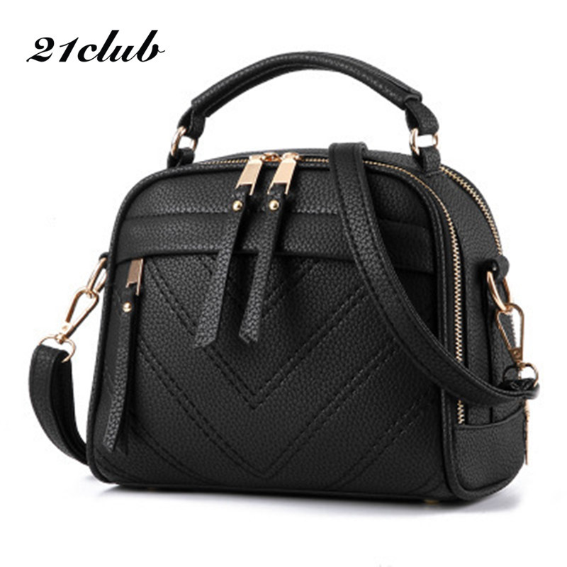 21club brand solid casual thread zipper small totes woman purse hotsale party shopping handbag shoulder messenger crossbody bags casual small candy color handbags new brand fashion clutches ladies totes party purse women crossbody shoulder messenger bags