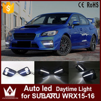 GuangDian 1 Set High Quality LED Daytime Running Lights Auto White DRL Fog Lamp Car Accessories