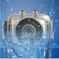 Freeshipping мини подводная цифровая камера DV-123SD 720 P hd 4X цифровой зум действие спорт камеры видео camorder
