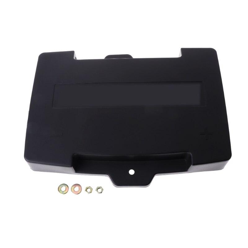 Envío gratuito para Mazda CX-5 batería positiva/negativa cubierta protectora impermeable a prueba de polvo