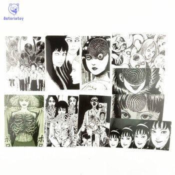10Pcs/lot Another Face Tomie Revenge Sticker Decal For Car Laptop Bicycle Motorcycle Notebook Waterproof Stickers