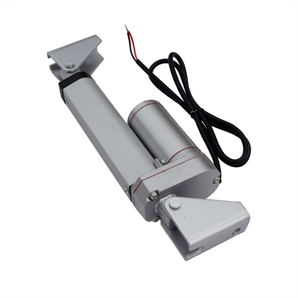 1 PCS 100mm/4inch Stroke Heavy duty DC 12V 900N Load Linear Actuator multi-function 10 1 pcs 150mm 6inch stroke heavy duty dc 12v 900n load linear actuator multi function 10 motor with 1 steel mounting brackets
