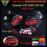 For Yamaha YZF R1 YZF1000 YZF R1 09 14 2009 2010 2011 2012 2013 2014 CNC Frame Sliders Crash Pad Cover Falling Protection