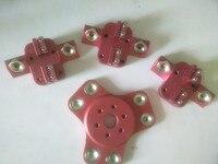Funsor 3D printer parts k800 metal magnetic effector+ carriage kit For DIY Delta Kossel 3d printer