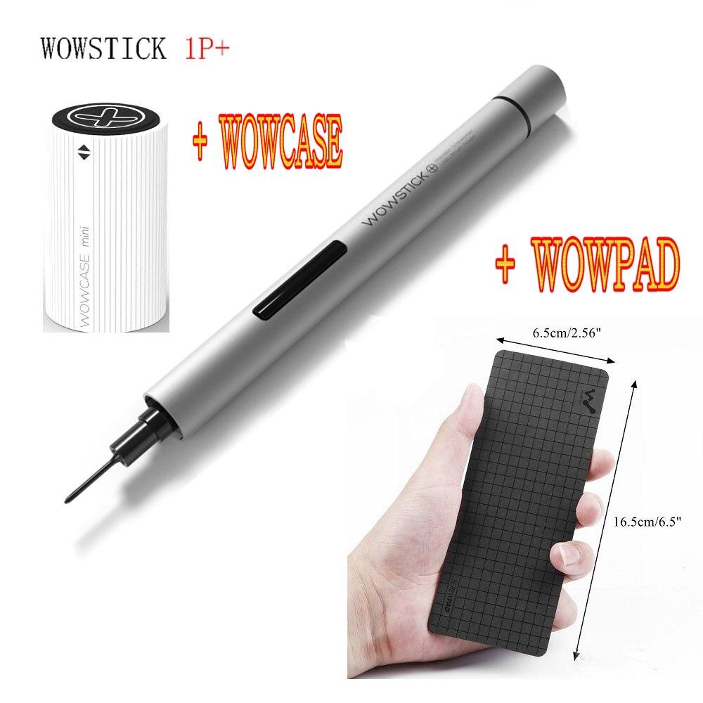 Wowstick 1 p + Mini Cacciavite Elettrico Senza Fili di Potenza Della Batteria per il Telefono Mobile di Riparazione Elettronica Wowcase Wowpad