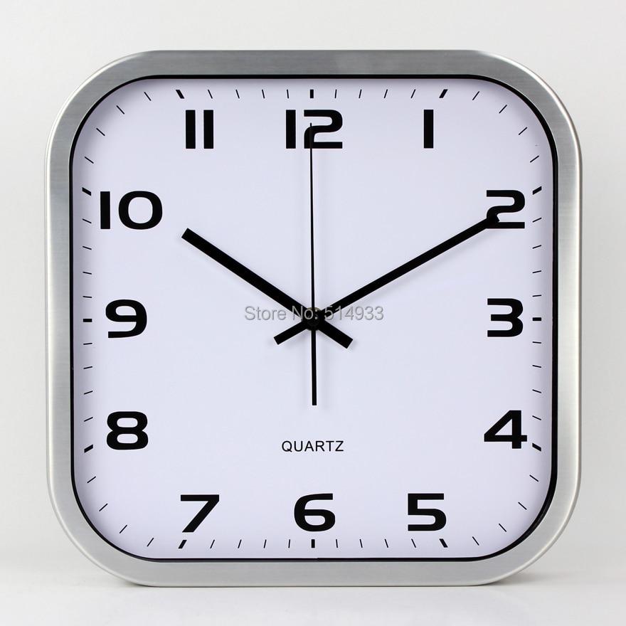 12 Square Wall Clock Kitchen