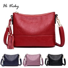 luxury handbags women shoulder bag tote bags hobo soft Genuine leather ladies crossbody messenger bag for women 2019 Sac a Main цена в Москве и Питере