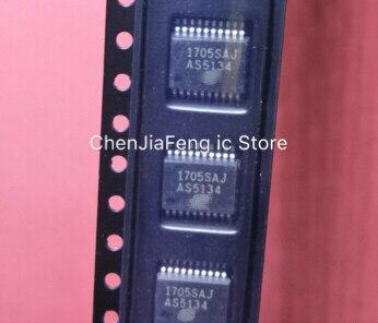 2 шт. ~ 10 шт./партия новые оригинальные AS5134-ZSSM AS5134-ZSST AS5134 SSOP20 чипы и магниты