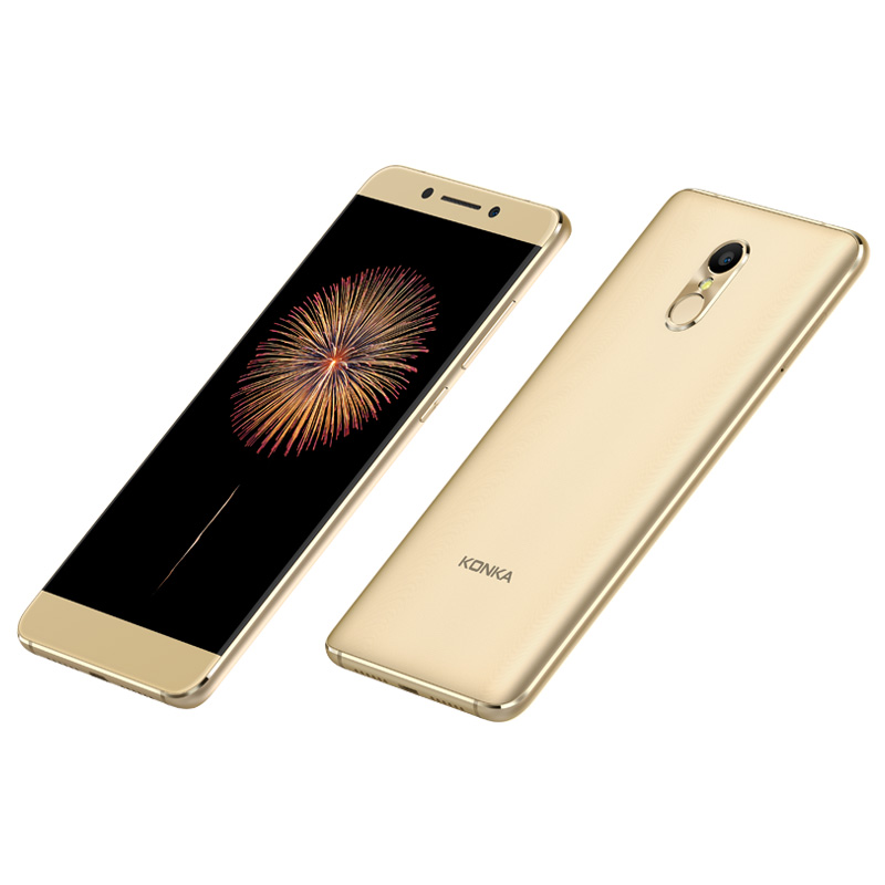 US $220 0 | Konka 711 Fingerprint 4G Smart phone camera 13 0MP Front camera  5 5inch 1080P FHD MTK6737 Quad Core 3000mAh mobile phones-in Mobile Phones
