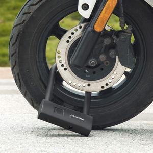 Image 3 - Youpin AreoX U8 สมาร์ท USB ลายนิ้วมือ U ล็อคจักรยานป้องกันการโจรกรรมจักรยานล็อครถจักรยานยนต์