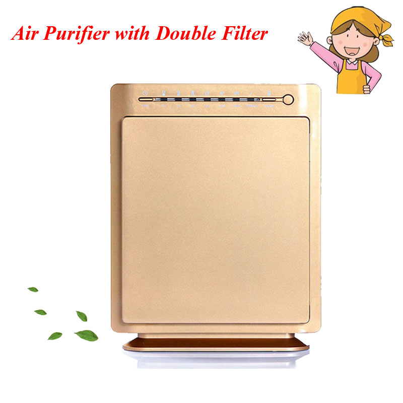 Lonizers HEPA Air Purifier Carbon Filter Air Cleaner Home Office PM2.5 In Addition to Smoke Formaldehyde kj210g c42 air purifier in addition to formaldehyde secondhand smoke wifi intelligent control mute ionizer