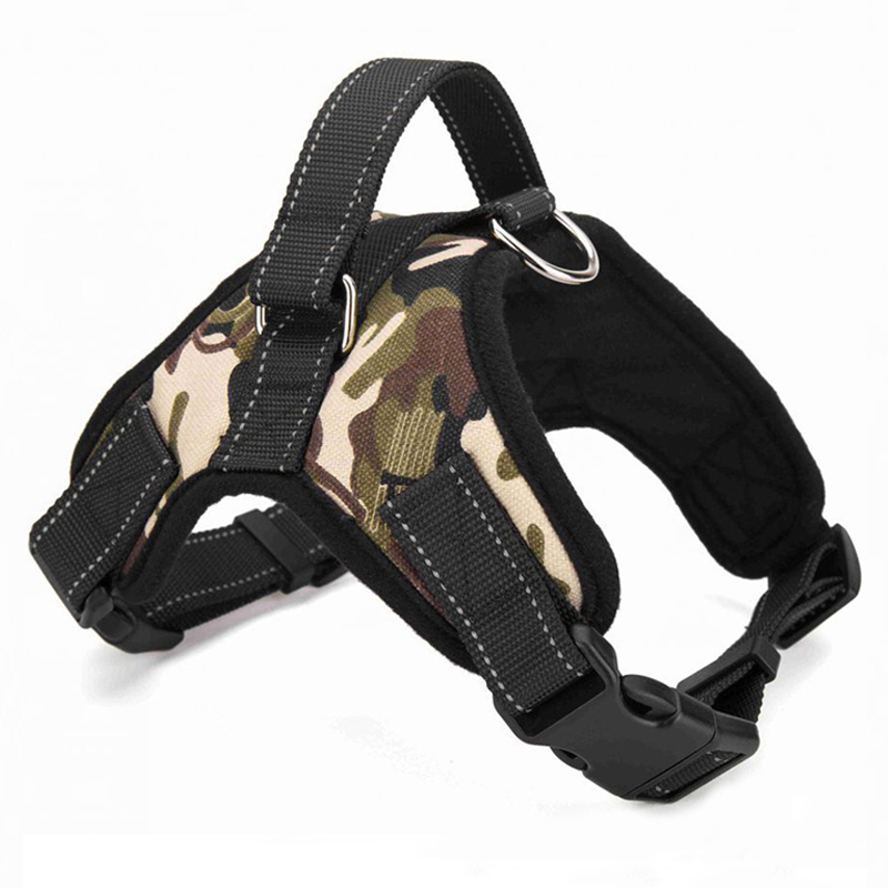 Adjustable Saddle Style Pet Dog Harness Soft Oxford Harness Vest for Small Medium Large Dogs S/M/L/XL Drop Shipping