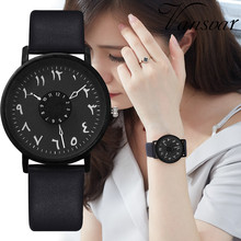 купить Vansvar  Women's Casual Quartz Leather Band New Strap Watch Analog Wrist Watch Hot Sale Simple Black White Watches For Female дешево