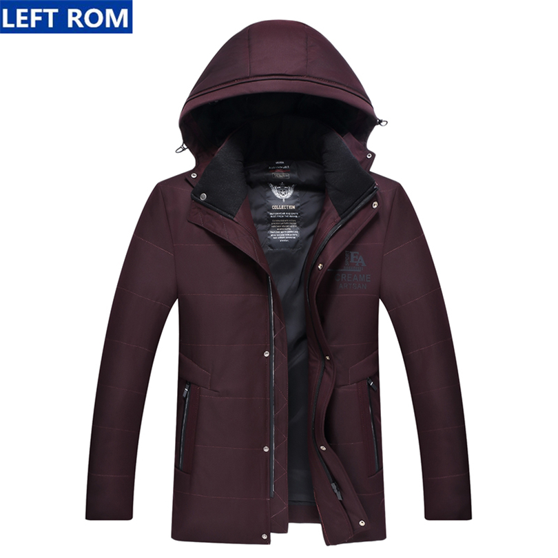 Jacket Men Thick 2017 New Winter male Long Sleeve Jacket coat Mens Fashion Business Casual Hot sale clothing popular Top Size 2017 new hot selling fashion casual winter jacket men coat comfortable