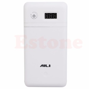 Image 2 - Mobile Power Bank 20V UPS 6 18650 Batterie Ladegerät Für Laptop Iphone