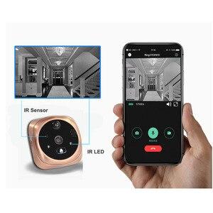 Image 5 - Video Peephole Wifi Doorbell Camera 4.3 Inch Monitor Motion Detection Door Viewer Video eye Wireless Smart Ring Intercom
